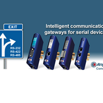 Anybus® Communicator™ - Serial Gateways for Fieldbus and Industrial Ethernet