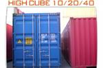 Storage Containers - High Cube Container
