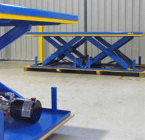 Scissor Lifts from Optimum Handling Solutions