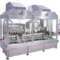 Icon Tri-bloc Rinsing, Filling & Capping Machine