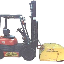 Forklift Sweeper - Factory or Warehouse Floors