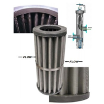 "Fine Particulate Filter Elements For Gas or Liquid with Posi-Sealoc II or Bolted Cover & ""Out to In"" Flow Path"