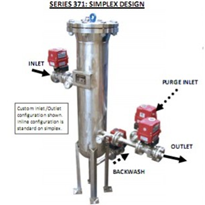 "Back Flushable Fine Particulate Filter Systems Utilizing the ""RGFHT"" Elements"