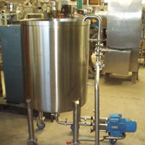 Process Tanks - Emulsifier with Pipework