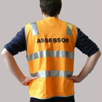 Hi-Vis Day Night Assessor Vest