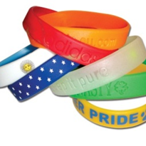 Silicone Rubber Wristbands | Customised