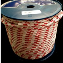 Polyester Industrial Rope with Red Fleck - 12mm x 100m