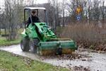 Property Maintenance Loader Attachment | Rotary Brooms