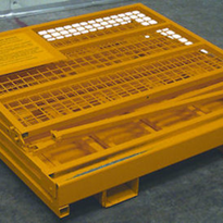 Collapsible or Folding Work Platform Forklift Safety Cage