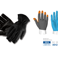 HexArmor Safety Gloves - LEATHER TACTICAL ENFORCEMENT GLOVE - 4046