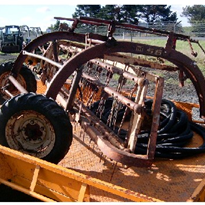 Used Farm Machinery | New Holland Roller Bar