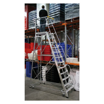 Deluxe Order Picking Ladders