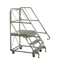 Heavy Duty Mobile Stairway And Platform