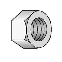 Hex Nuts (304, 316 Stainless Steel)