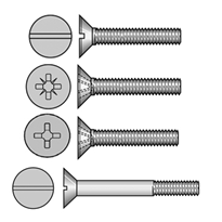 Csk Machine Screws and Track Bolts (304, 316 Stainless Steel)