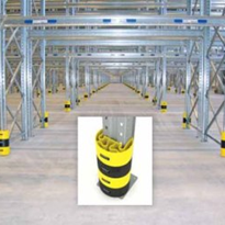 "Pallet Racking Leg Guards - Protect-Itâ""¢"