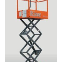 Push Around Scissor Lift | RIZER SP025-E