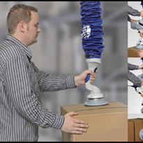 JumboFlex - A Revolutionary Vacuum Tube Lifter by Millsom Materials Handling