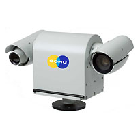 COHU 6960 Series Dual Imager Positioning Security Camera System