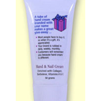 Sun Protection Products - Hand & Nail Cream