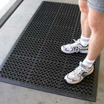 Anti-Fatigue Mat - Safewalk Black