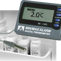 12207 - Digital Min/Max Thermometer with alarm