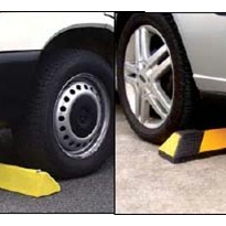 Plastic & Rubber Wheel Stops for Car Parking Spots