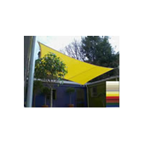 Colourful Waterproof PVC Shade Sails