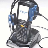 DEMATIC l Voice Recognition Systems - Vocollect Voice® on Motorola® MC9090