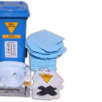 Spill Response Kits for Body Fluids, Acids Caustics, Solvents