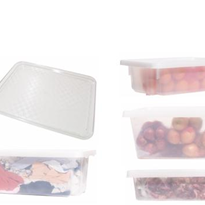 Food Grade Clear Crates and Trays | R.J. Cox Engineering