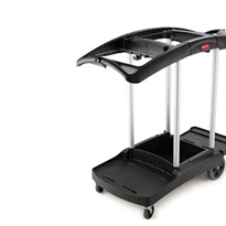 Triple Capacity Cleaning Cart | 9T92 | Rubbermaid