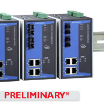 6 Port Power over Ethernet Switch from Moxa