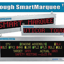 Industrial LED Display Marquee Message Uticor Sign - Tough Marquee