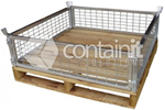 Timber Base Pallet | Containit Solutions