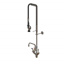 Hob Mounted Pre-Rinse Unit with Dual Mixer Assembly | Enware
