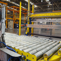 Fromm solves safety challenge for wrapping & palletising wire bundles