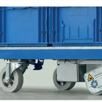 Get your transport trolley moving with motorised wheels