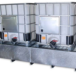 Double IBC Containment Bund – Hot Dip Galvanised (DBDIBCHD)