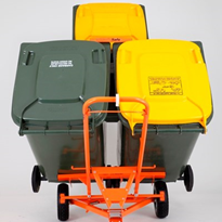 "Manual Bin Handling Trolley | WheelieSafeâ""¢"